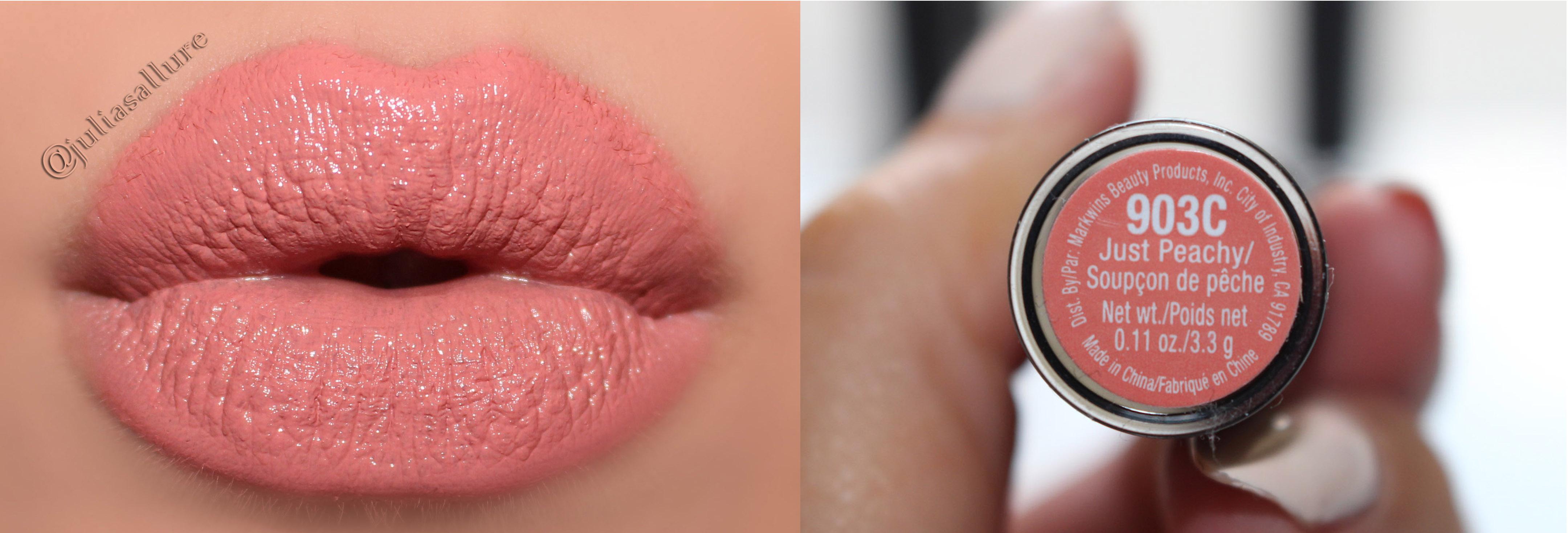 Wet N Wild Megalast Lipsticks Lip Swatches Juliasallure