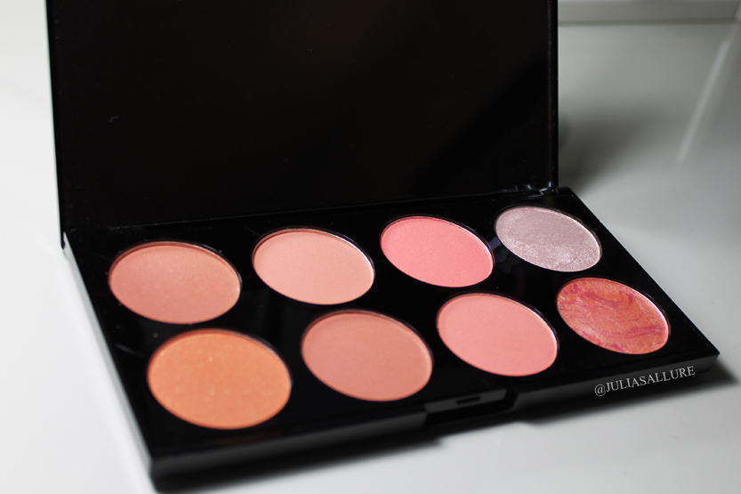 Makeup Revolution Ultra Blush And Contour Palette In Hot Spice