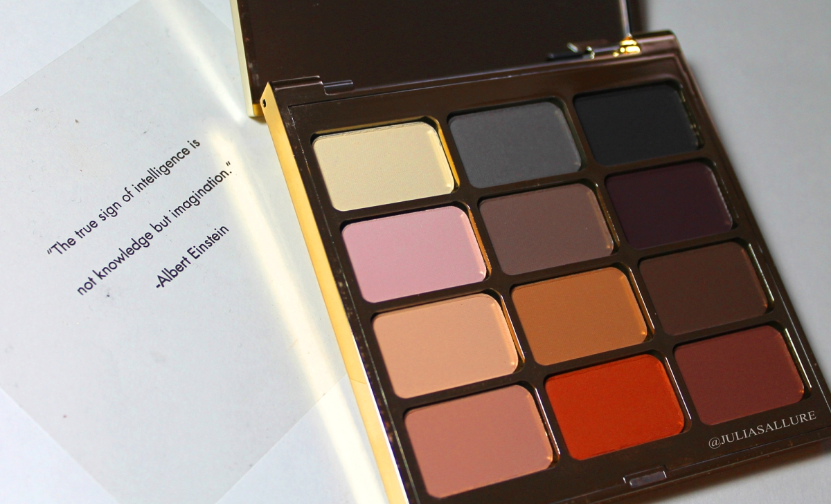 "STILA: EYES ARE THE WINDOW SHADOW PALETTE: ""MIND"" (REVIEW & SWATCHES)"