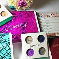 COLOURPOP COSMETICS: HOLIDAY COLLECTION & MEGAN NAIK SHADOWS (SWATCHES AND REVIEW)