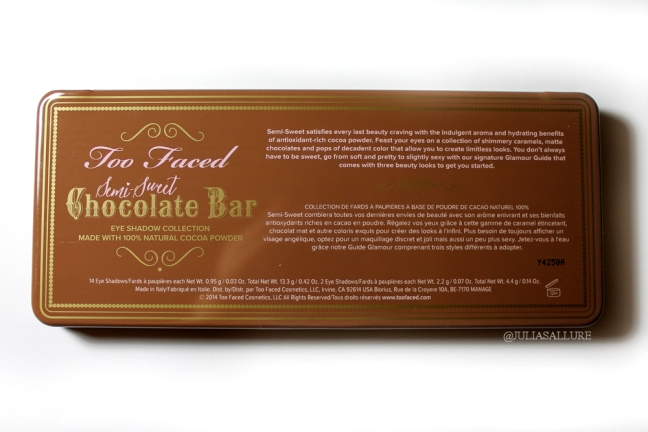 SEMI SWEET CHOCOLATE BAR 010