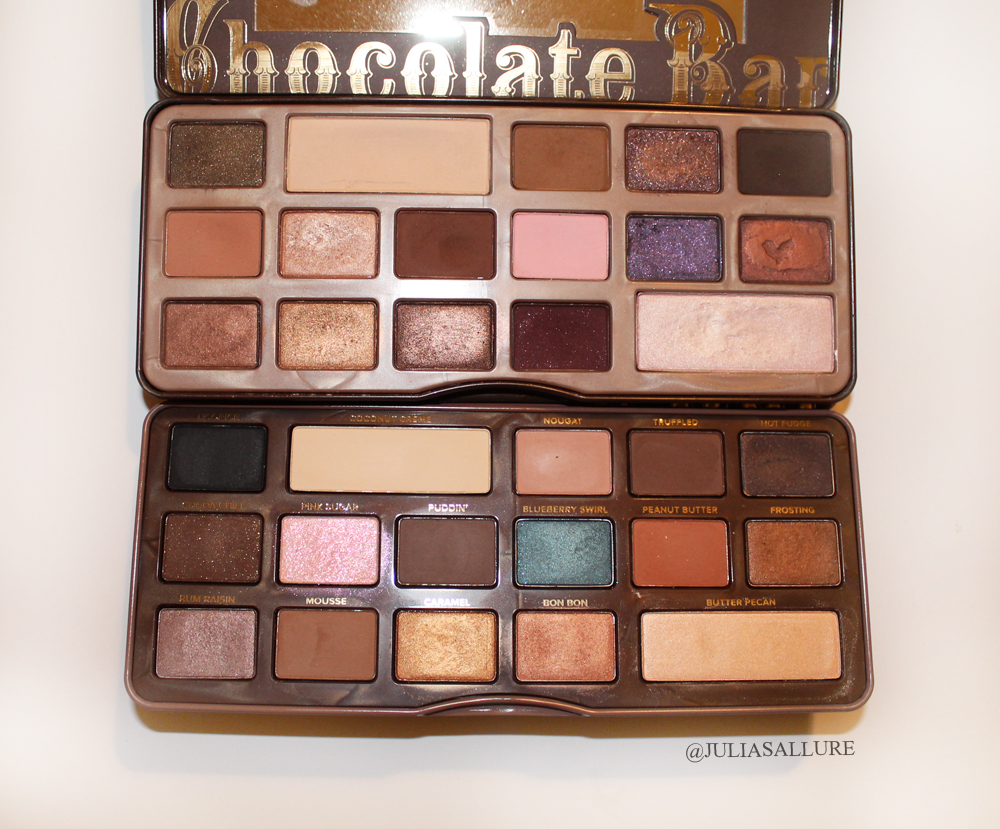 Too Faced: Semi Sweet Chocolate Bar Palette (Review and Swatches ...