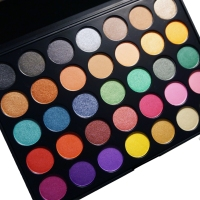 MORPHE BRUSHES: 35U MULTI-COLOR SHIMMER PALETTE (SWATCHES AND REVIEW)