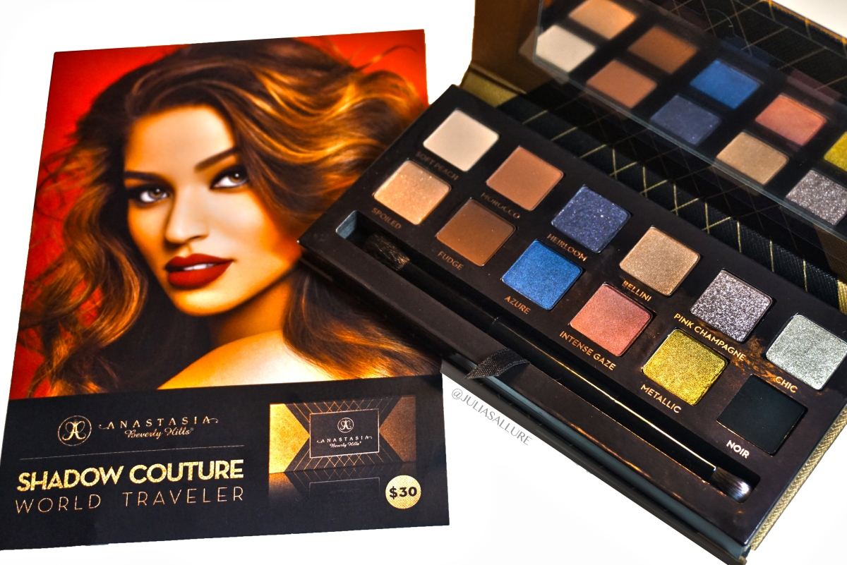 ANASTASIA BEVERLY HILLS: SHADOW COUTURE WORLD TRAVELER EYE SHADOW PALLETE