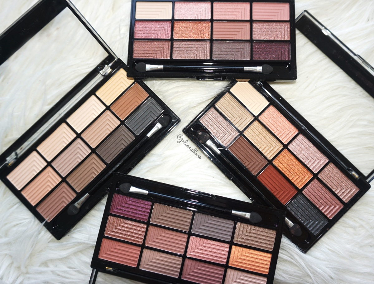 FREEDOM MAKEUP: PRO EYESHADOW PALETTES (REVIEW AND SWATCHES)