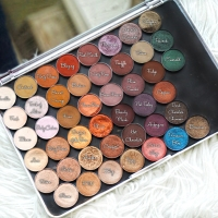 MY ANASTASIA BEVERLY HILLS SINGLE EYESHADOW COLLECTION (SWATCH AND REVIEW)