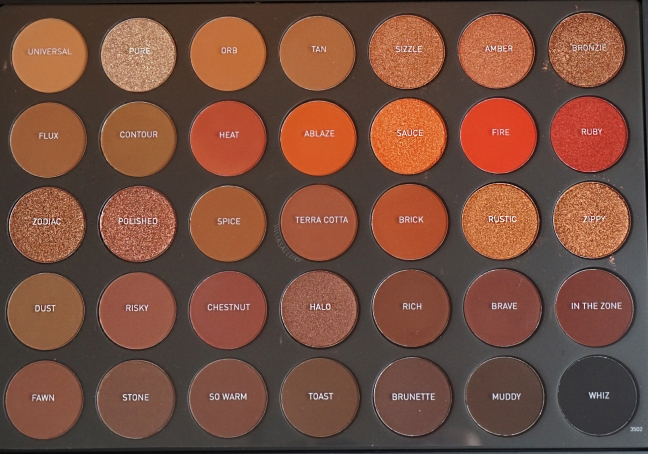 Morphe 35o2 Second Nature Eyeshadow Palette Swatch Review