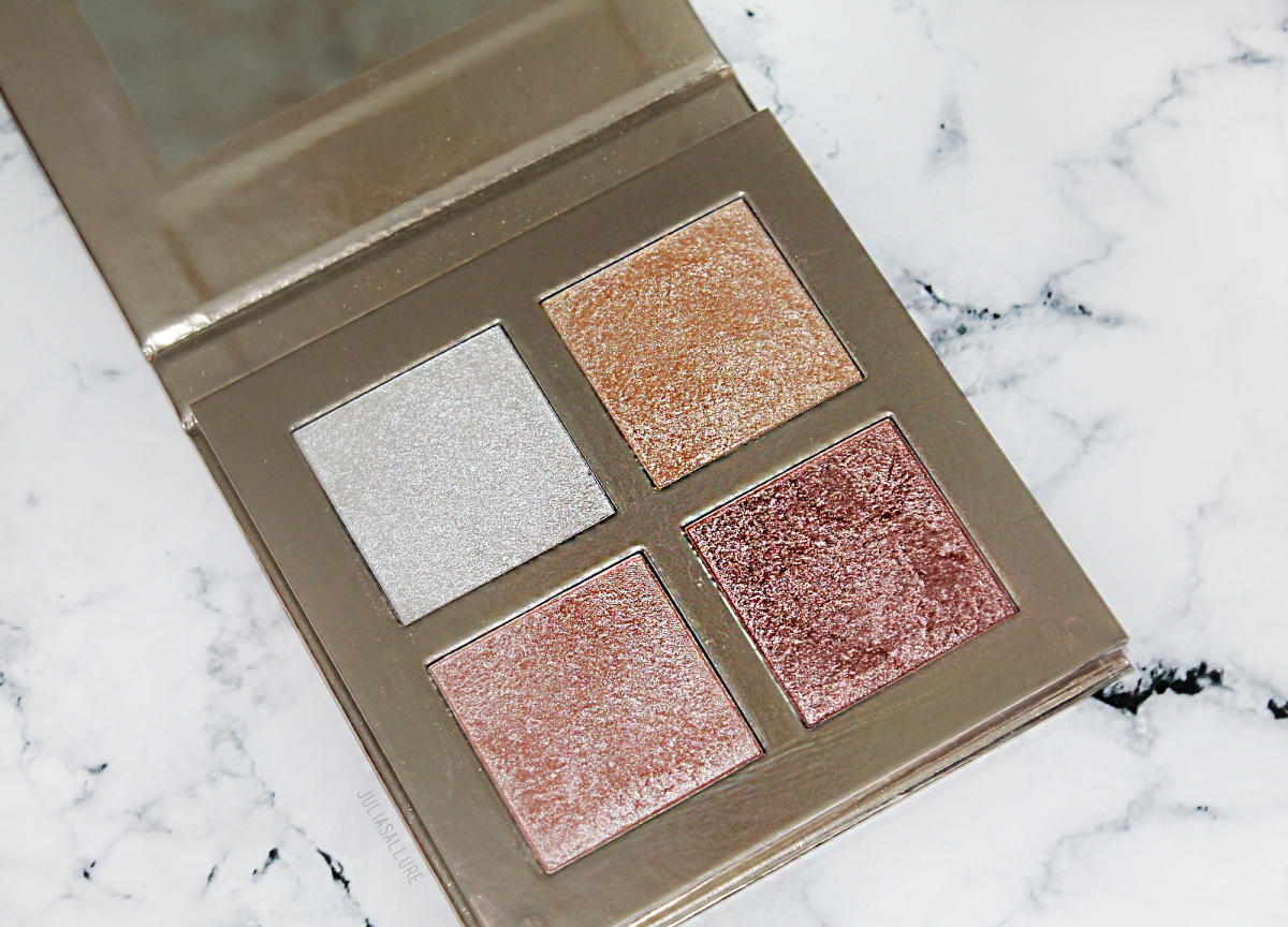 MAKEUP REVOLUTION FACE QUAD: INCANDESCENT (REVIEW & SWATCHES)