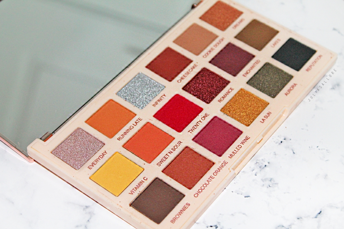 Makeup Revolution X Soph Extra Spice Palette (Review + Swatches)