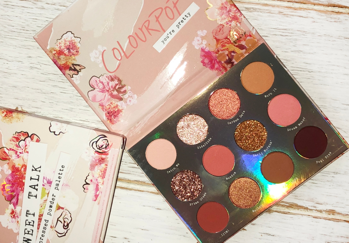 "ColourPop ""Sweet Talk"" Eyeshadow Palette"