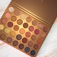 MORPHE | 35G BRONZE GOALS EYESHADOW PALETTE | SWATCH & REVIEW